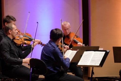 Johan Dalene, violin Mikael Wenhov violin Lennart Falkebring, viola Gunnar Enbom, viola