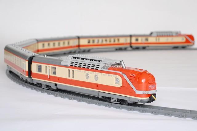 LEGO train Europ Express (TEE)