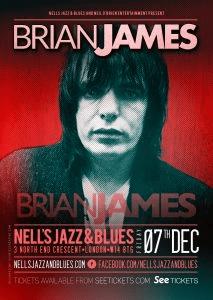 Brian James Poster
