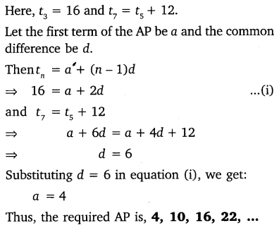 NCERT Solutions for Class 10 Maths Chapter 5 Arithmetic Progressions 39