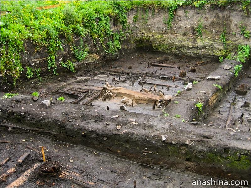 Раскоп, Старая Ладога