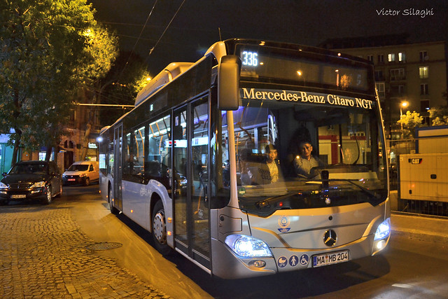 Mercedes-Benz Citaro NGT - Bucharest  - September 2018