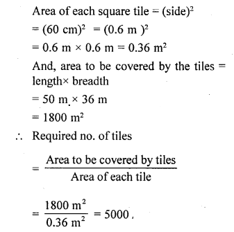 Selina Concise Mathematicsclass 6 ICSE Solutions -Perimeter and Area of Plane Figures-b14