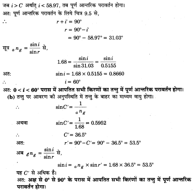 UP Board Solutions for Class 12 Physics Chapter 9 Ray Optics and Optical Instruments Q17.1