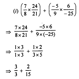 Selina Concise Mathematics class 7 ICSE Solutions - Rational Numbers-e8..