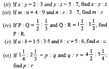 Selina Concise Mathematics class 7 ICSE Solutions - Ratio and Proportion (Including Sharing in a Ratio) -b5..