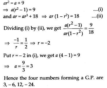 NCERT Solutions for Class 11 Maths Chapter 9 Sequences and Series 58