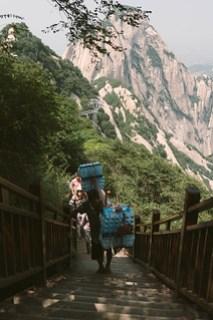 Food supply in Huashan 華山
