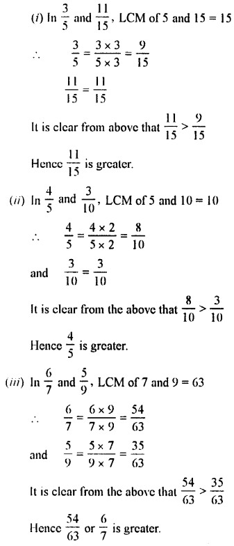 Selina Concise Maths class 7 ICSE Solutions - Fractions (Including Problems)-B6...