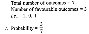 RD Sharma Class 10 Solutions Chapter 16 Probability VSAQS 18