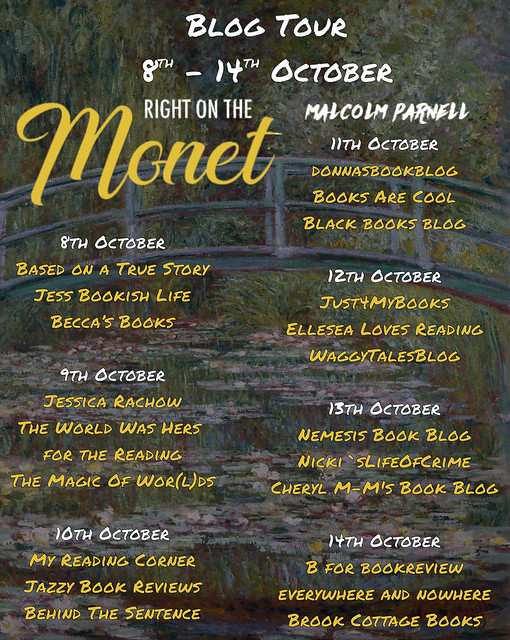 Right on the Monet Full Tour Banner