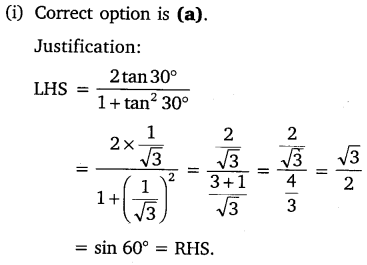 NCERT Solutions for Class 10 Maths Chapter 8 Introduction to Trigonometry 22