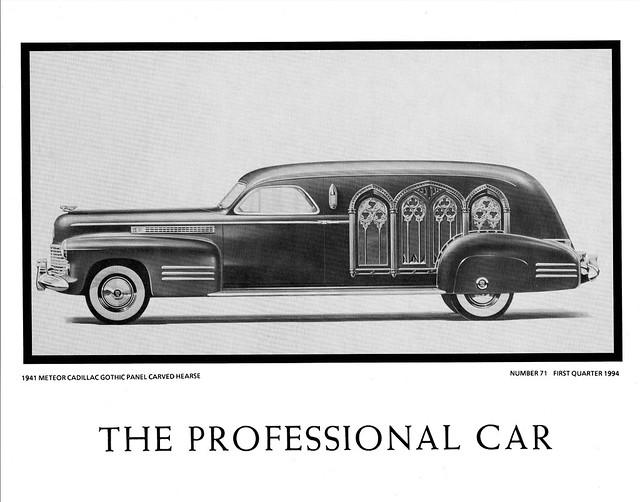 1941 V Car Cadillac Town 16