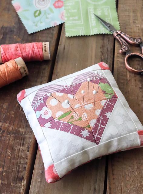 LB 176 Butterfly Patch Quilt Pattern by Lella Boutique featuring Lollipop Garden by Lella Boutique for Moda Fabrics
