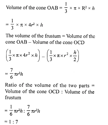 RD Sharma Class 10 Solutions Chapter 14 Surface Areas and Volumes Ex 14.3 21a