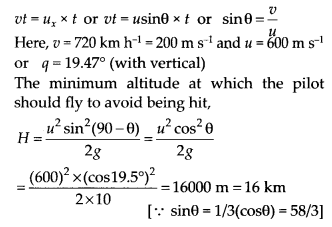 NCERT Solutions for Class 11 Physics Chapter 4 Motion of plane 32