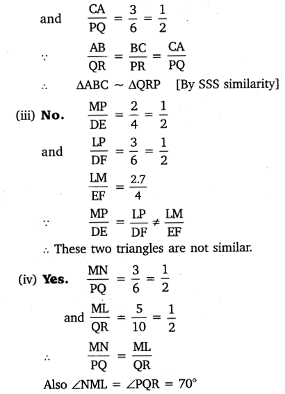 NCERT Solutions for Class 10 Maths Chapter 6 Triangles 23