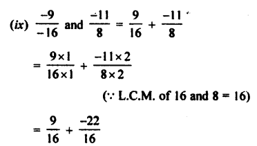 Selina Concise Mathematics class 7 ICSE Solutions - Rational Numbers-c2............