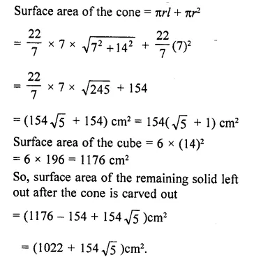 RD Sharma Class 10 Solutions Chapter 14 Surface Areas and Volumes  RV 68