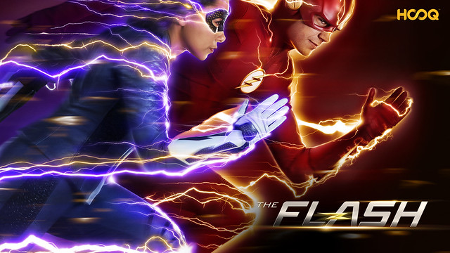 The Flash on HOOQ Key Visual