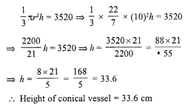 RD Sharma Class 10 Solutions Chapter 14 Surface Areas and Volumes  RV 34