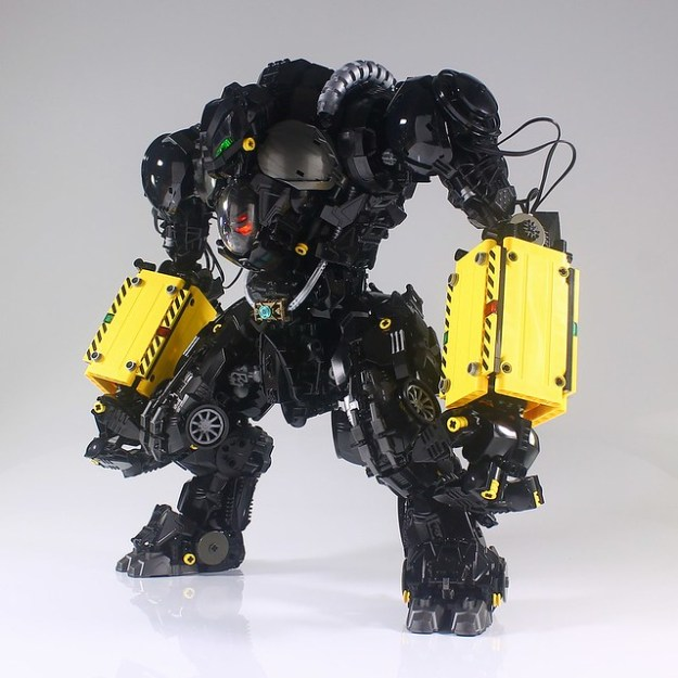 An absolute unit of a mech