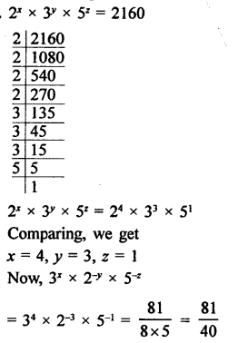 RD Sharma Class 9 Solutions Chapter 2 Exponents of Real Numbers Ex 2.2 - 19