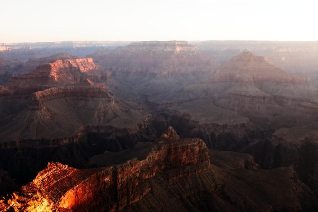grand canyon sunrise fujifilm x100t