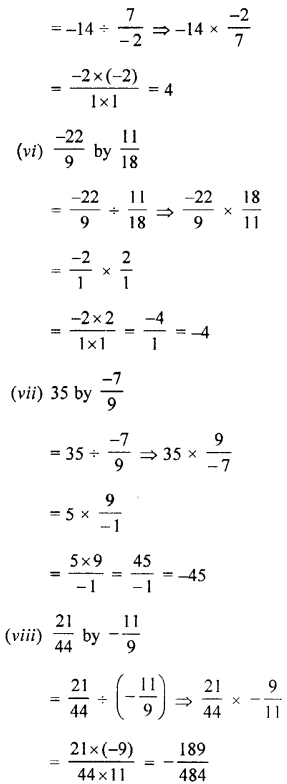 Selina Concise Mathematics class 7 ICSE Solutions - Rational Numbers-d6......