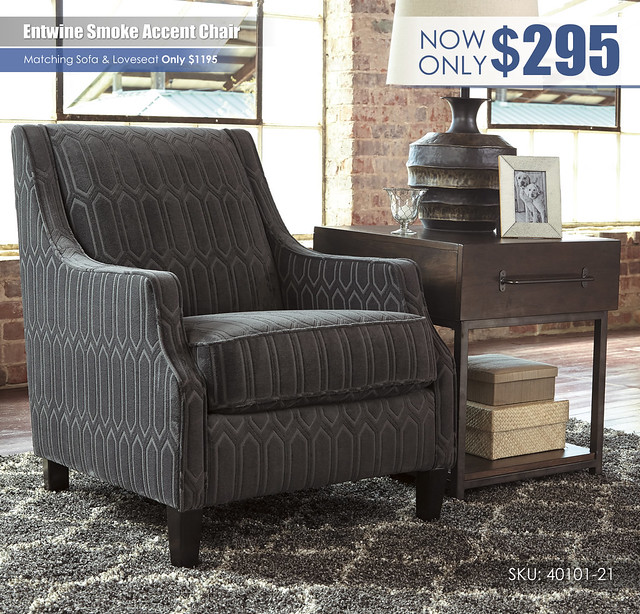 Entwine Smoke Accent Chair_40101-21