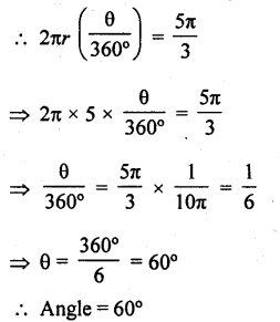 RD Sharma Class 10 Solutions Chapter 13 Areas Related to Circles Ex 13.2 - 2