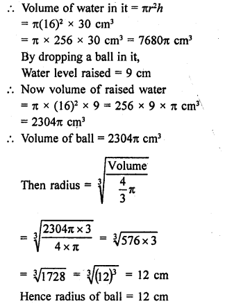 RD Sharma Class 9 Solutions Chapter 21 Surface Areas and Volume of a Sphere Ex 21.2 26