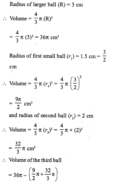 RD Sharma Class 10 Solutions Chapter 14 Surface Areas and Volumes Ex 14.1 3