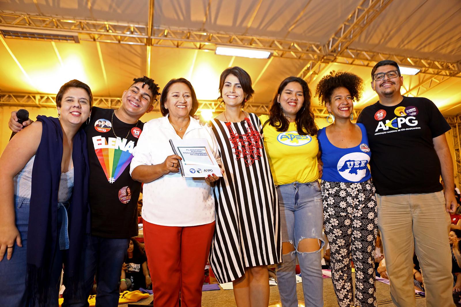 Agenda em Recife e Natal, 22/09/2018