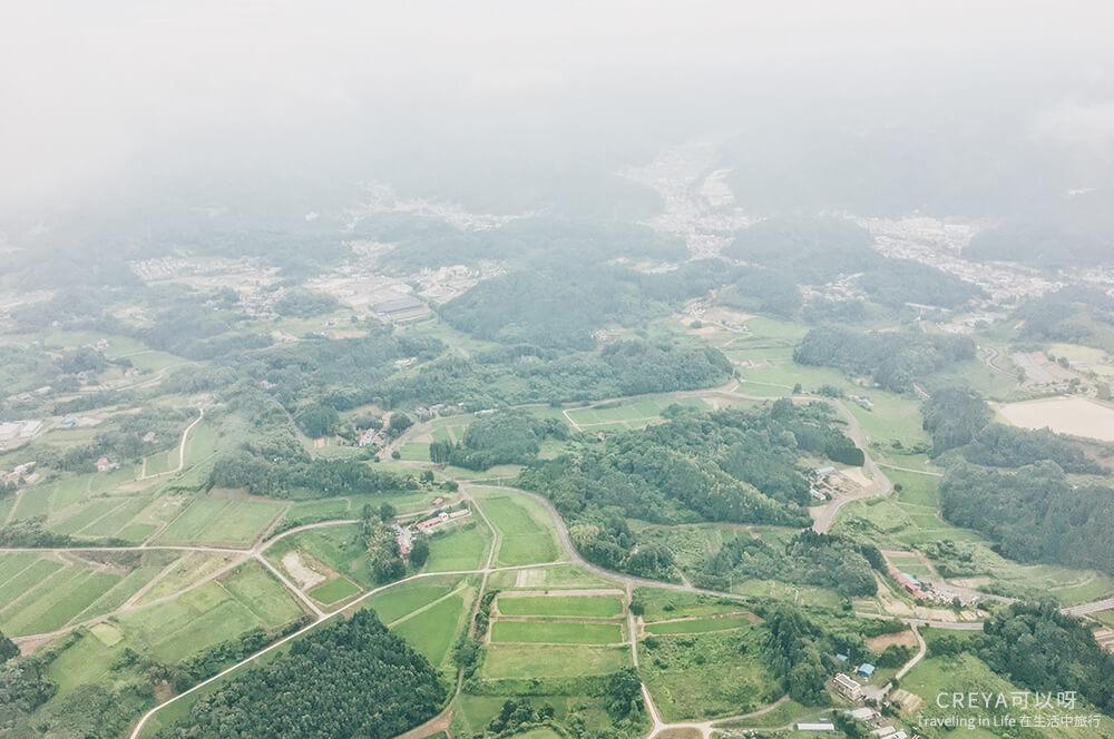 2018.10.05 | 行走在日本東北 | 用雙腳初識福島,這是我五天四夜的路徑線索 01