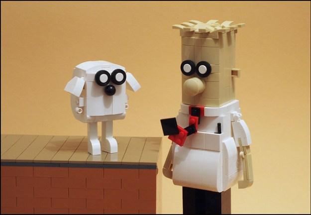Dilbert and Dogbert 1