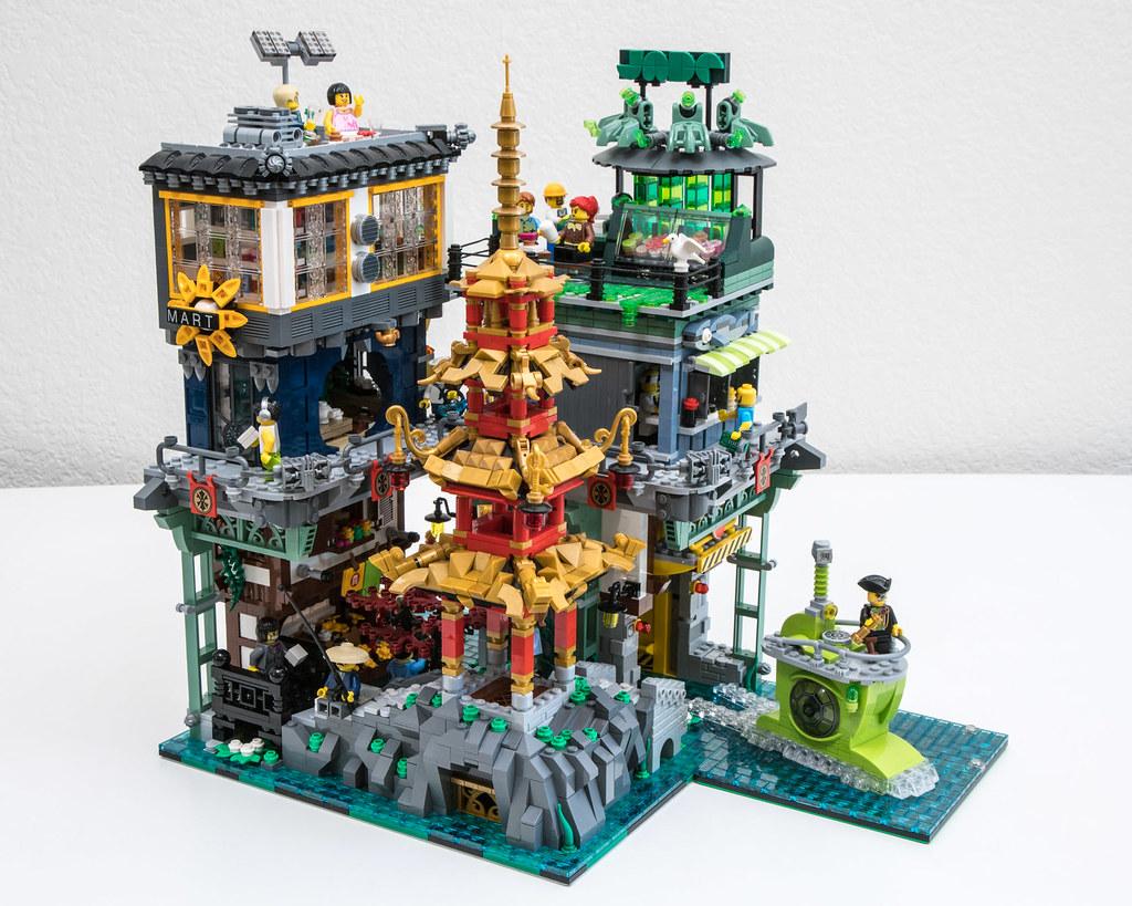 Ninjago City: Pagoda Park