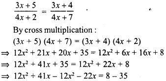 RD Sharma Class 8 Solutions Chapter 9 Linear Equations in One Variable Ex 9.3 - 12a