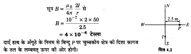UP Board Solutions for Class 12 Physics Chapter 4 Moving Charges and Magnetism Q3