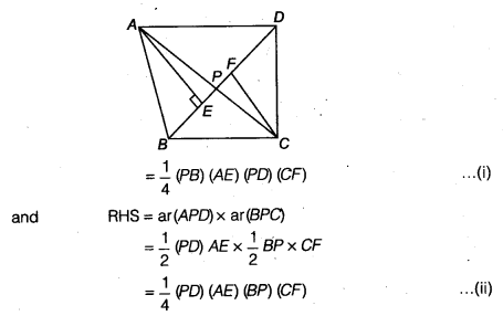 NCERT Solutions for Class 9 Maths Chapter 10 Areas of Parallelograms and Triangles 10.4 6a