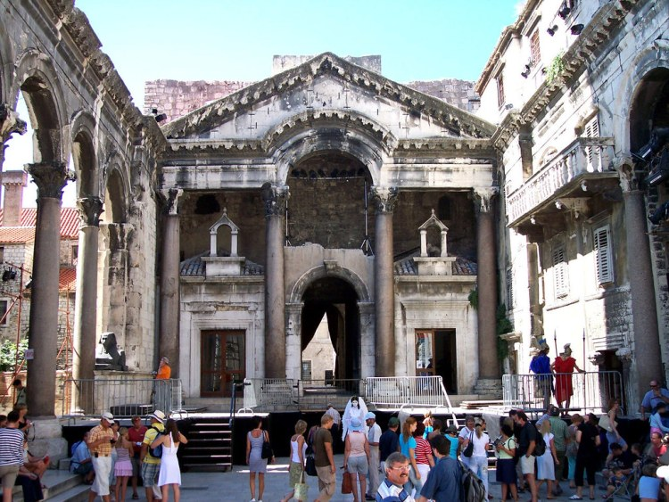 Diocletians Mausoleum, Split, Croatia