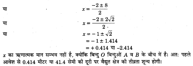 UP Board Solutions for Class 12 Physics Chapter 1 Electric Charges and Fields SAQ 3.1