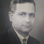 Aziz Atiya shortly after leaving Germany in 1938 and before his first Sinai expedition in 1940