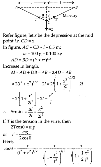 NCERT Solutions for Class 11 Physics Chapter 9 Mechanical properties of solid 22