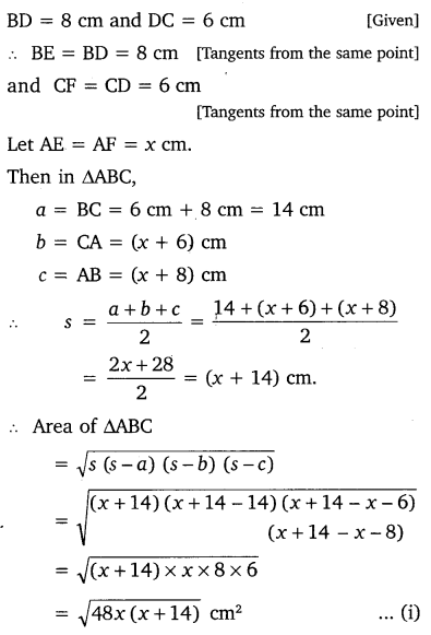 NCERT Solutions for Class 10 Maths Chapter 10 Circles 22