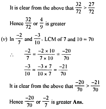 Selina Concise Maths class 7 ICSE Solutions - Fractions (Including Problems)-B6.......