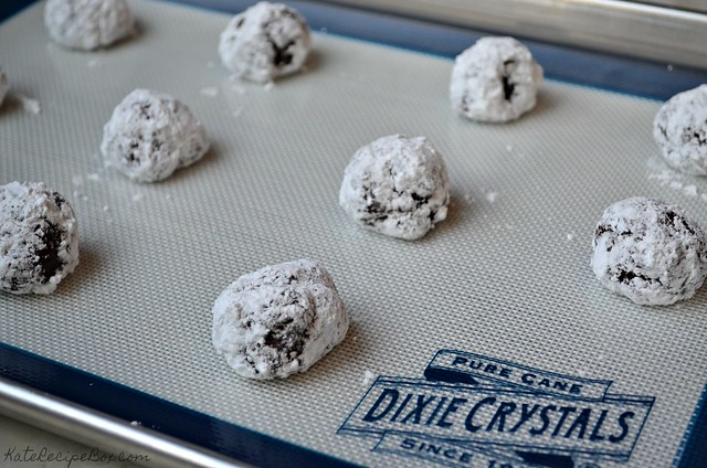 Chocolate Orange Crinkle Cookies 2