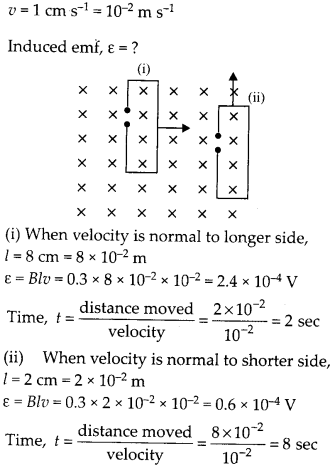 NCERT Solutions for Class 12 Physics Chapter 6 Electromagnetic Induction 10