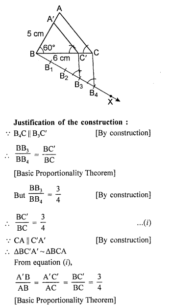 RD Sharma Class 10 Solutions Chapter 9 Constructions Ex 9.2 -15