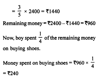 Selina Concise Maths class 7 ICSE Solutions - Fractions (Including Problems)-E24...